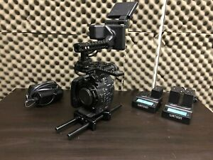Canon C500 Cage Batteries Charger Extras C $5500.00