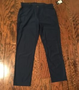 Under Armour Vanish Tapered Golf Pants Men's 1309645 408 Navy Blue NWT $100 $49.99