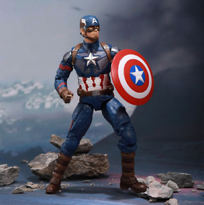 New Captain America With Replace Hand Marvel Avengers Legends Action Figure 7 $20.58