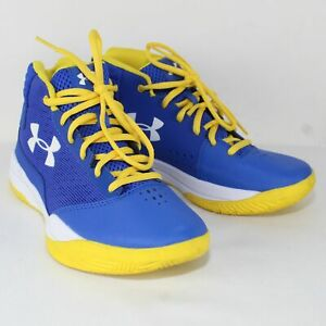 Under Armour Jet 2017 Grade School Kids Basketball Shoes Size US 6Y $34.55