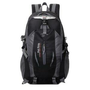 Men Women Backpack Outdoor Sports Bag Unisex Travel Mountain Camping Bags BEST