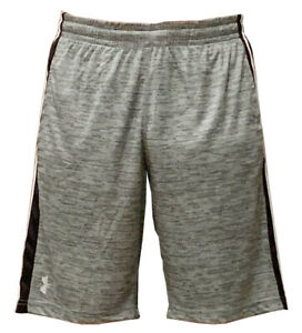 Under Armour Heat Gear Men's Athletic Basketball Shorts Gray M $15.99