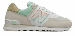 New Balance Men#x27;s 574 Shoes Grey with Blue