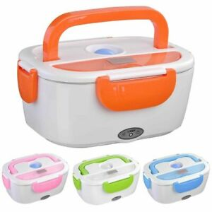 12V Portable Car Electric Heating Lunch Box Food Heater Bento Warmer Container
