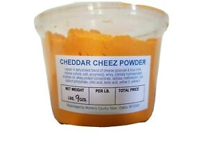 Cheddar Cheese Powdered Cheez 9 oz Shelf Stable Powder