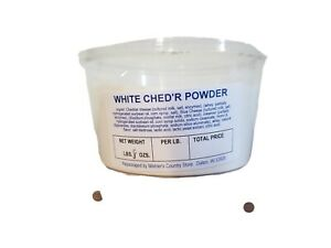 White Cheddar Ched'r Cheese Powdered Cheez 6 oz Shelf Stable Powder