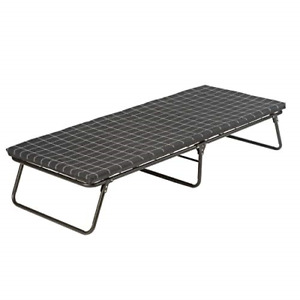 Coleman Camping Cot with Sleeping Pad  ComfortSmart Folding Cot with Mattress