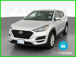 2019 Hyundai Tucson Tucson SE Sport Utility 4D Rear Spoiler Side Air Bags Silver Electronic Stability Control Tilt