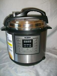 BELLA 10-in-1 6 QUART MULTI SLOW COOKER *OPEN BOX/NEVER USED*