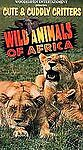 Cute Cuddly Critters: Wild Animals Africa VHS $3.99
