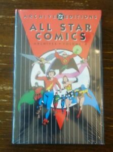 DC ARCHIVES: ALL STAR COMICS volume 6 hardcover hc SEALED NEW  NEVER READ