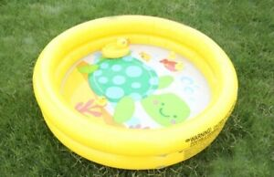 Intex Inflatable Infant Pool, Yellow or Purple, Lovely Animal Print