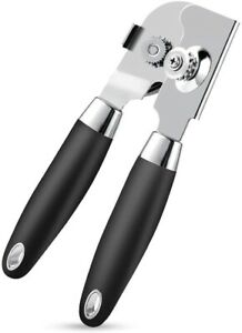 Can Opener Manual Food Grade Stainless Steel Heavy Duty Opener with Smooth Edge