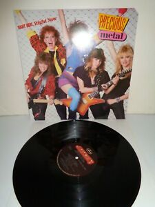 Precious Metal Right Here Right Now LP 1985 Polygram Records $7.95
