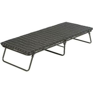 Deluxe portable Folding ComfortSmart Cot With Sleeping Pad Camping Furniture