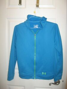 UNDER ARMOUR YOUTH SIZE XL PULLOVER HOODIE ZIP FRONT **EUC** $4.99