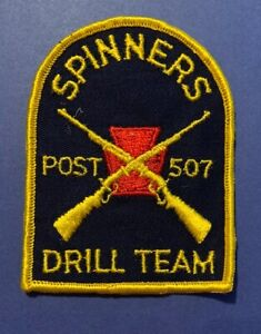 Vintage Spinners Drill Team Patch Post 507 024V