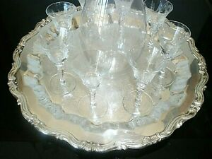 Crystal Decanter 13-1/2