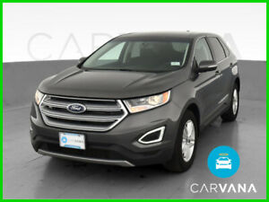 2017 Ford Edge Edge SEL Sport Utility 4D Gray V6 3.5 Liter Auto 6-Spd SelShft AWD Backup Camera Dual Air Bags Side Air