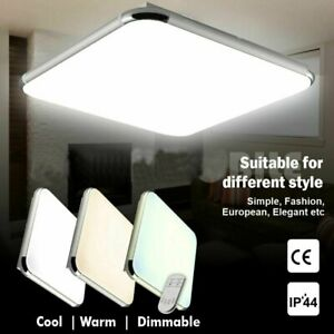 LED Ceiling Light Dimmable Ultra Slim Flush Mount Kitchen Lamp Home Fixture New