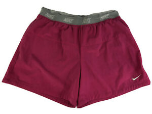 Nike Dri Fit Youth Girls Athletic Shorts Pink Size XL $15.99