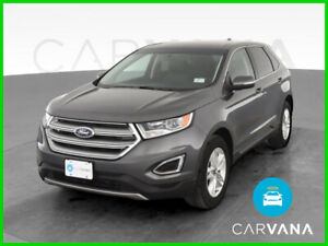 2017 Ford Edge Edge SEL Sport Utility 4D Gray 4-Cyl EcoBoost 2.0L Auto 6-Spd SelShft AWD Dual Air Bags Side Air Bags F