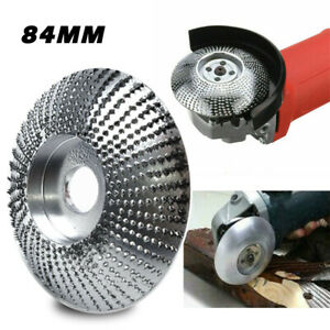 84mmCarbide Wood Sanding Carving Shaping Disc For Angle Grinder Grinding Wheel