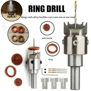 Ring Drill Buckle Cutter Drill Bit Multifunction Wooden Thick Ring Maker Tool