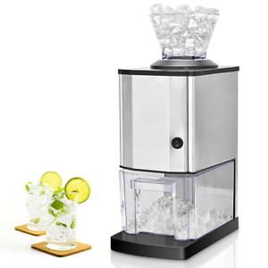 Electric Stainless Steel Ice Crusher Crushed Ice Maker Shaver Machine