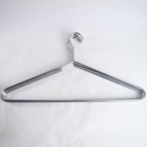 Heavy Duty Stainless Steel Hangers Top Shirt Jacket Suit 7 Pack Smooth One Piece