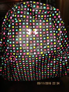 Under Armour Favorite Storm Backpack Multi Color; New $42.99