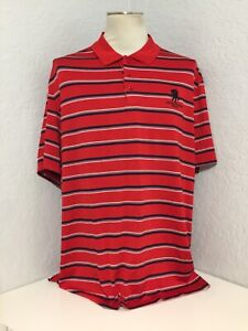 ⛳️Men's Under Armour POLO GOLF Short Sleeve SHIRT SZ XL Red Wounded Warriors $14.99