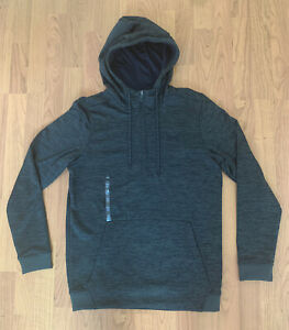 NEW Men Under Armour Cold Gear Hoodie Fleeced Baroque Green Color Size S $25.00
