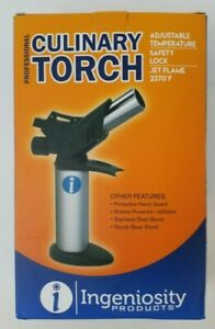 Culinary Torch Lighter for Creme Brulee, Searing-Professional Food Torch
