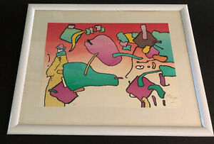 Peter Max : Hand Signed Numbered Psychedelic Lithograph $980.20