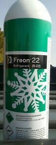 R 22   VIRGIN FREON  35 OZ  CAN   FREE CONECTOR $68.00