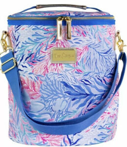 LILLY PULITZER Insulated Soft BEACH COOLER BAG W/Adjustable/Removable Strap NWT