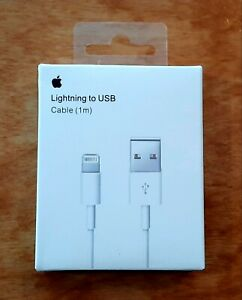 1m 3ft Genuine OEM for Apple Lightning Charging Cable iPhone X 6 7 8 XS XR PLUS $6.99