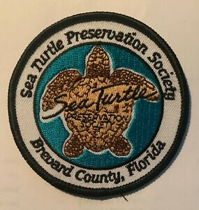 Sea Turtle Preservation Society Hat Hipster Jacket DIY Travel Patch Crest 805T $8.99