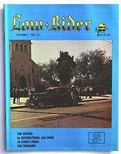 LOWRIDER MAGAZINE NEW #x27;78 .O.G .# 11 ..LOTS OF TEEN ANGLE ART $69.00