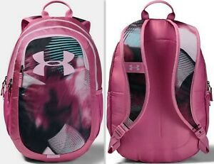 Under Armour Kids UA Scrimmage 2.0 Girl's Backpack School Bag 1342652, Pace Pink $38.25