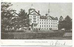 Postcard Pennsylvania Military College Chester PA $19.97