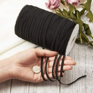 Braided Elastic Band for Sewing 200 Yards 5mm Cord Knit Band DIY Sewing US $15.99