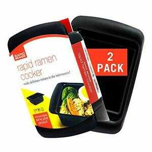 Rapid Ramen Cooker Microwave Ramen in 3 Minutes Perfect for Dorm Small Kit $19.73