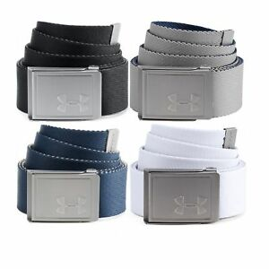 *BRAND NEW* Under Armour Men's Webbing 2.0 Belt 4 Colours $19.70