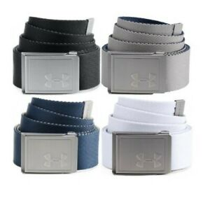 BRAND NEW Under Armour Men's Webbing 2.0 Belt 4 Colours $17.44