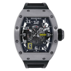 Richard Mille RM030 Titanium Automatic with Declutchable Rotor 50MM Watch RM030