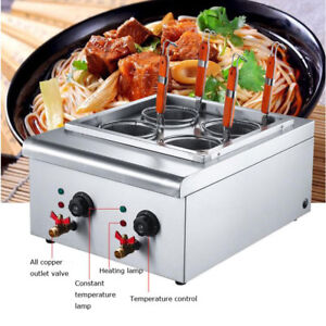 4 Holes Noodle Machine Electric Pasta Cooking Machine Pasta Maker Cooker Durable