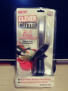 Clever Cutter 2 In 1 Knife & Cutting Board As Seen On TV