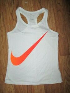 Girls NIKE DRI FIT TEE tank top shirt sz M md med $6.99